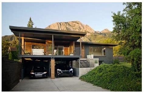 desain garasi dua mobil contoh garasi rumah modern dan sederhana rumah minimalis