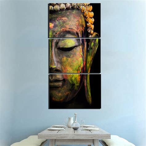 home decor big buddha buddhism antique art wall canvas print picture background ebay 3 panel buddha abstract wall art buddha zing