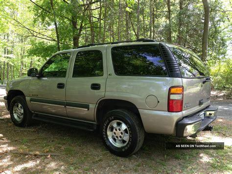 2002 chevrolet tahoe ls 2002 chevrolet tahoe ls sport utility 4 door 5 3l