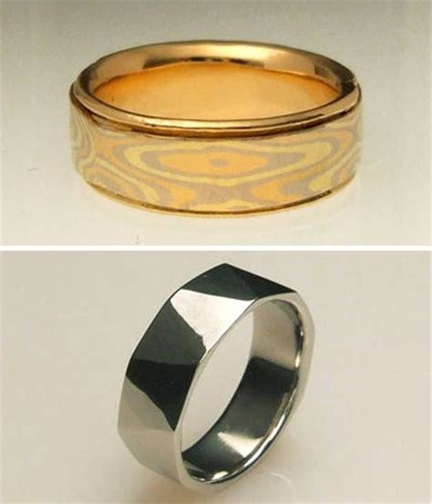 Wedding Bands Groom by Recycled Wedding Bands For Your Groom Onewed