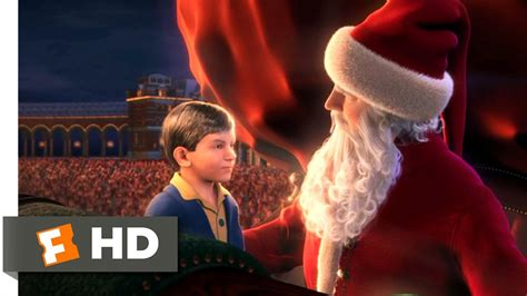 the polar express 4 5 movie clip the first gift of