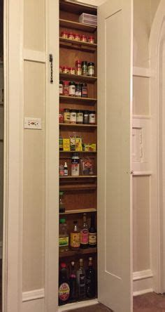 Built In Drawers Between Wall Studs by 1000 Ideas About Spice Cabinets On Apothecary