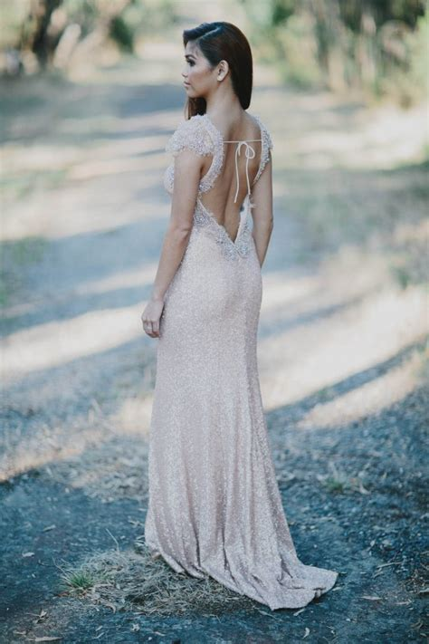 wedding dress for backyard wedding elegant backyard wedding in melbourne junebug weddings