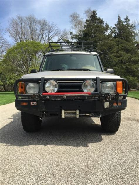 2000 land rover lifted 2000 land rover discovery ii lifted and overland ready