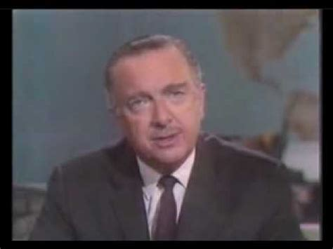 50 years ago today walter cronkite signed on tvnewser report from vietnam 1968 youtube