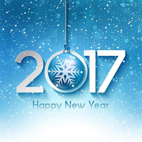 new year vector free decorative new year background with snowflakes vector