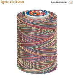 Variegated Thread Quilting by Machine Quilting Craft Thread Variegated Cotton