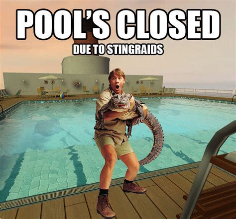 Pools Closed Meme - image 17860 pool s closed know your meme