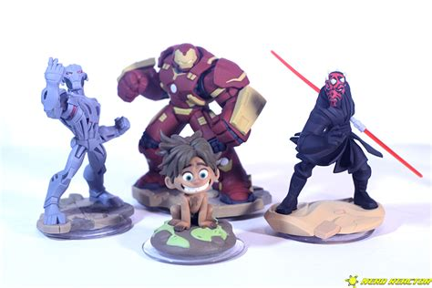 disney infinity for characters disney infinity s darth maul hulkbuster ultron and spot
