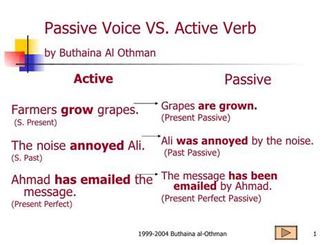 present simple passive pattern passive voice present simple passive voice grammar