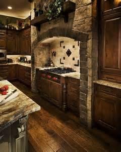 Stone Kitchen Ideas Stone Arch Over Stove Kitchen Pinterest Stove House