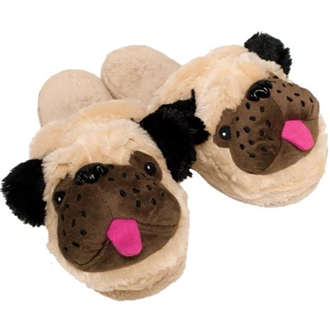 womens pug slippers womens pug slippers 28 images joe boxer s 2 pairs cameron gray pug scuff slippers