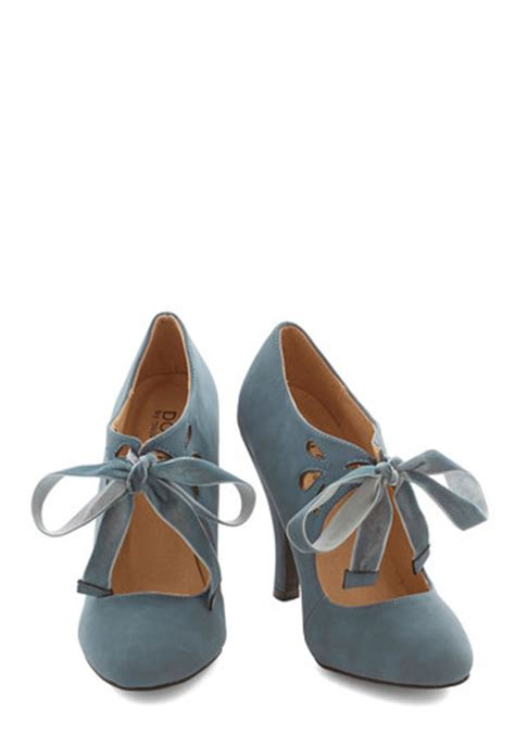 Sniff Grey Platform by Vintage Glam Shoes For Your Sparkly Rustic Chic Barn