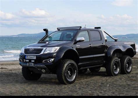 Toyota Hilux Tieferlegen by Vromos Tuning Toyota Hilux 6x6 Tuningblog Eu