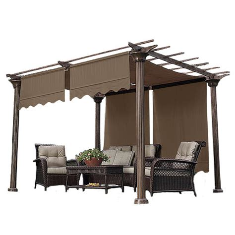 Shade Canopy by Universal Replacement Pergola Shade Canopy Pergola