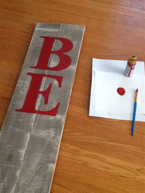 diy large christmas sign pottery barn peace sign knockoff