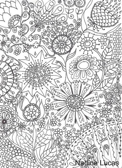 advanced abstract coloring pages flower abstract doodle coloring pages colouring adult