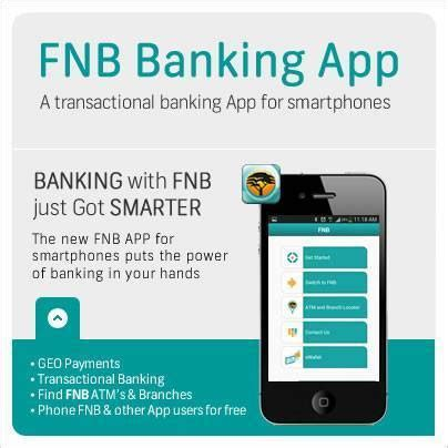 fnb mobile fnb mobile banking app mobile application mania