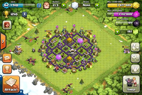 coc layout builder download one ring a th7 farming base design peaked 1 on coc