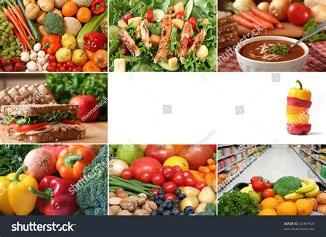 whole grains vegetables and nuts are exles of healthy collage lots of fruits and vegetables