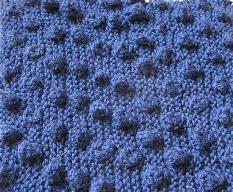 bobble stitch knit knitting stitches bobbles