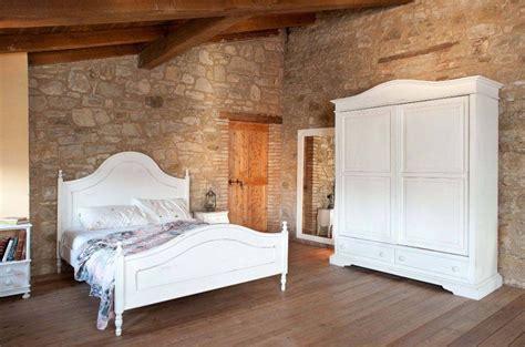 da letto in stile provenzale letto provenzale legno bianco ferro battuto
