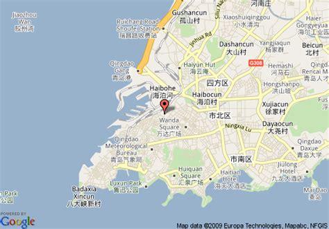 map of qingdao qingdao china map images