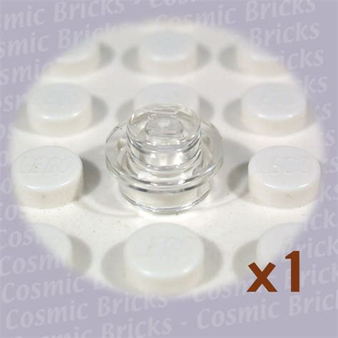 Promo Lego Part Trans Clear Plate 1 X 1 Side Transparen lego transparent plate 1x1 3005740 30057 single n