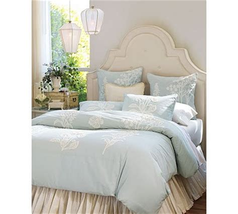 Pottery Barn Upholstered Headboard by Upholstered Headboards Dishes And Designs