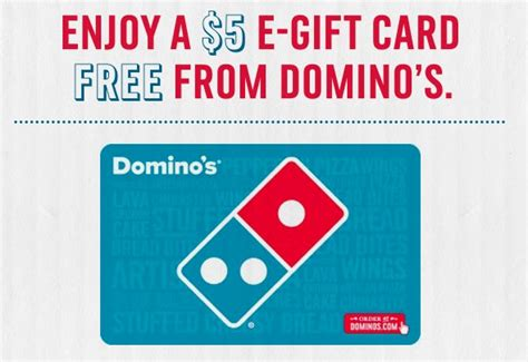 Dominos E Gift Card - domino s pizza free 5 e gift card money saving mom 174