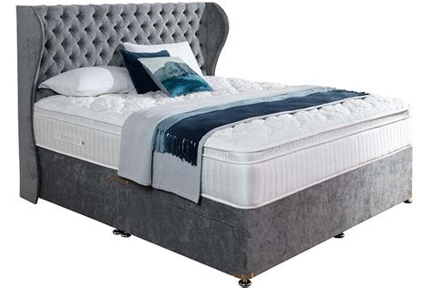 Drawer Divan Beds by Biarritz 6 2 Drawer Divan Bed Brighthouse