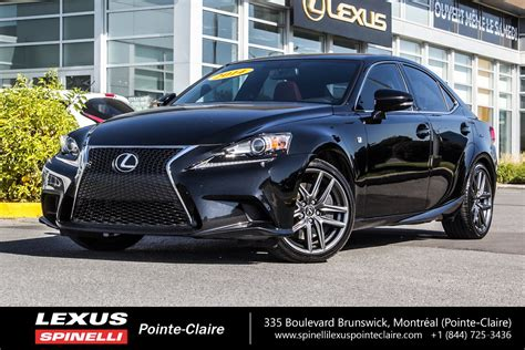 used lexus is 350 used 2014 lexus is 350 f sport series 2 in montreal laval