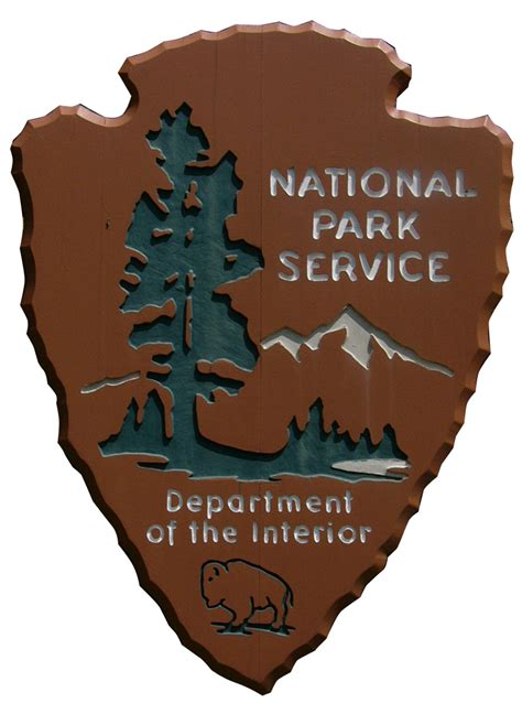Department Of Interior National Park Service by National Park Signs On National Parks Signs