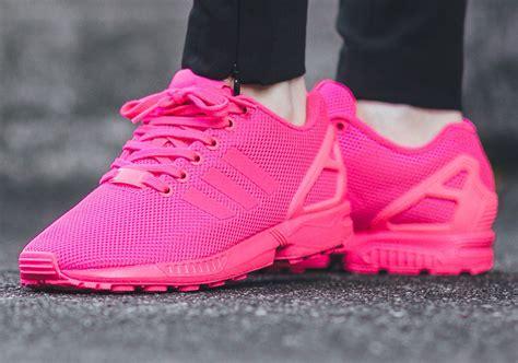 hot pink   good    adidas zx flux  tubular