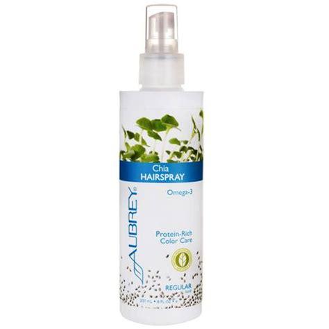 aubrey organics chia hair gel strong hold 8 fl oz 237 aubrey organics chia hairspray regular hold 8 oz