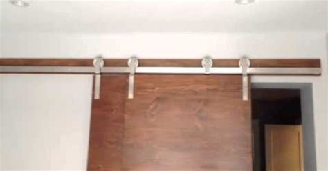 Bypass Barn Door Hardware System Stainless Steel Bypass Barn Door Hardware System In