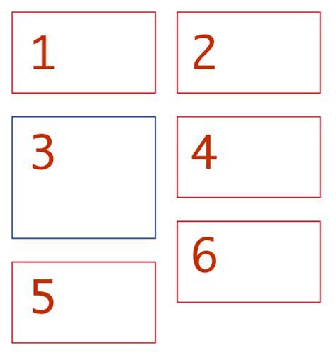 javascript column layout html 2 column responsive masonry like layout without