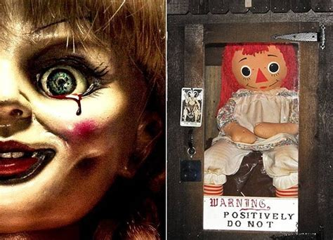 annabelle doll actual see the real annabelle moved to new location live tonight