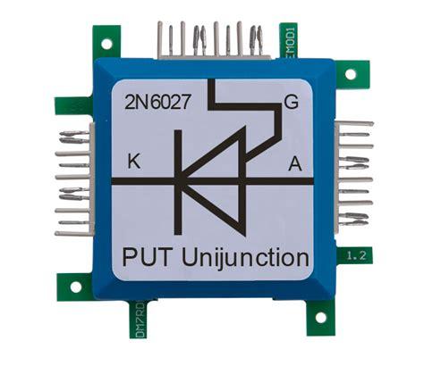 transistor put transistor put 2n6027 brick r knowledge