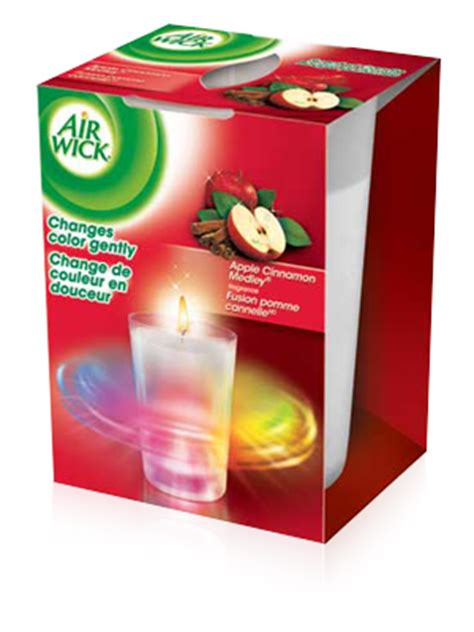 candele air wick air wick s color changing candles giveaway