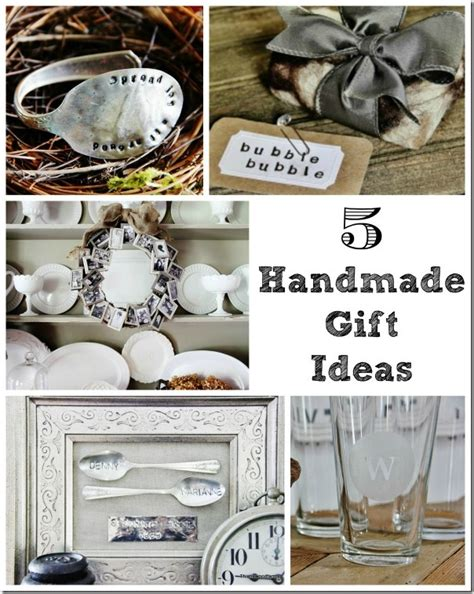 Handmade Ideas For Gifts - five handmade gift ideas thistlewood farm