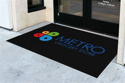 Logo Mats by Outdoor Logo Mat For Exterior Use
