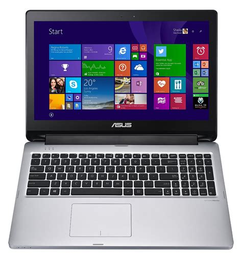 Laptop Asus Transformer Touchscreen asus transformer book flip tp550la 15 6 quot touchscreen laptop i5 8gb 750gb