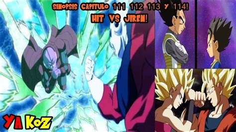 anoboy dragon ball super 114 sinopsis capitulo 111 112 113 y 114 dragon ball super