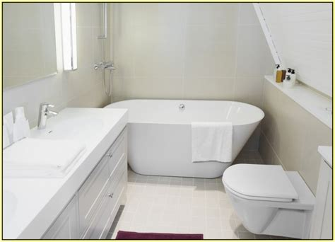 small bathrooms with tubs soaking tubs for small bathrooms homesfeed