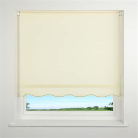 roller shades with scalloped edge universal scalloped edge roller blind ebay