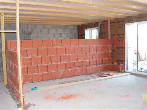Cloison En Brique De Verre 2250 by Monter Un Mur Ou Une Closison