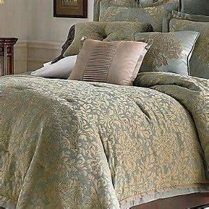 Chris Madden Wynscape Queen Comforter Set New Blue Brown Chris Madden Bedding Sets