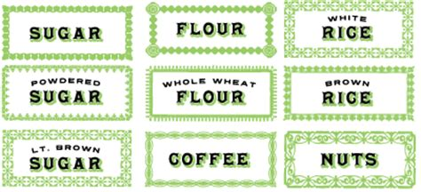 this designer cooks free printable canister labels free canister decals design inspiration