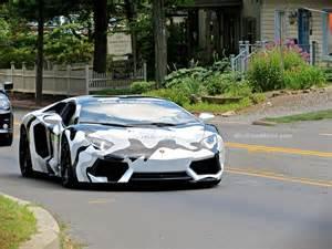 Camo Lamborghini Camo Lambo Aventador Spotted In New Pa Mind Motor